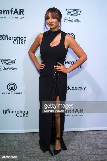 Actress Jackie Cruz attends amfAR generationCURE Solstice 2017 at Mr. Purple on June 20, 2017 in New York City.