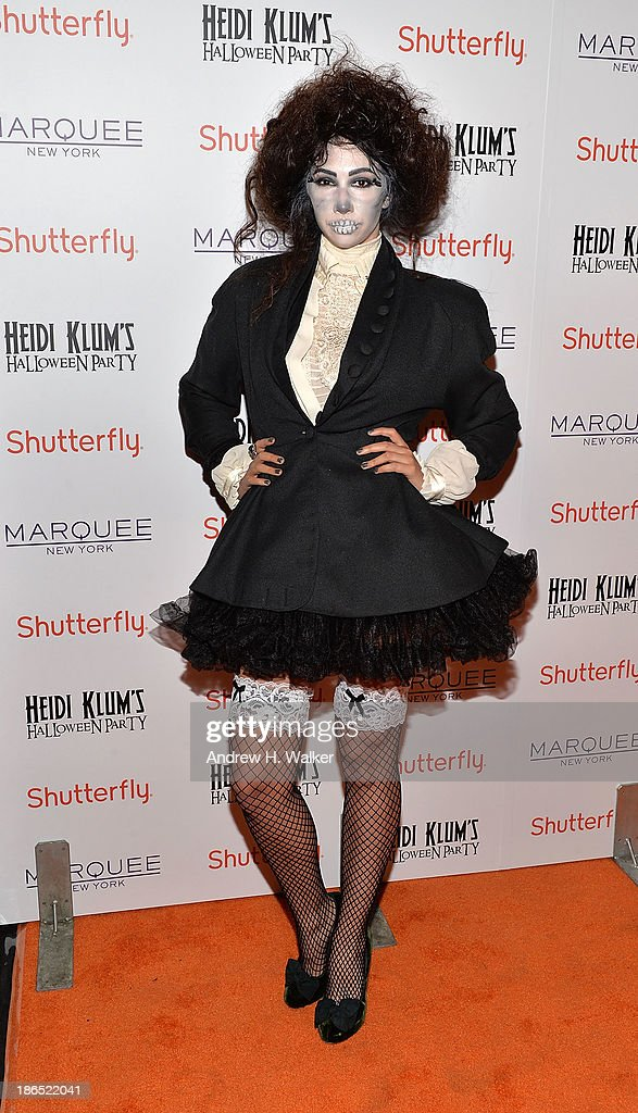 Actress Jackie Cruz attends Heidi Klum's Halloween presented by Shutterfly at Marquee on October 31, 2013 in New York City.