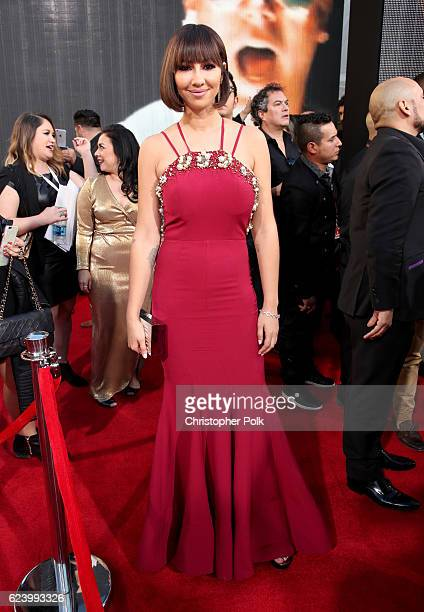 Actress Jackie Cruz attends The 17th Annual Latin Grammy Awards at TMobile Arena on November 17 2016 in Las Vegas Nevada