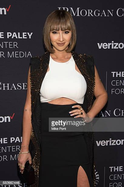 Actress Jackie Cruz attends the 2016 Paley Center for Media's Tribute To Hispanic Achievements In Television at Cipriani Wall Street on May 18 2016...