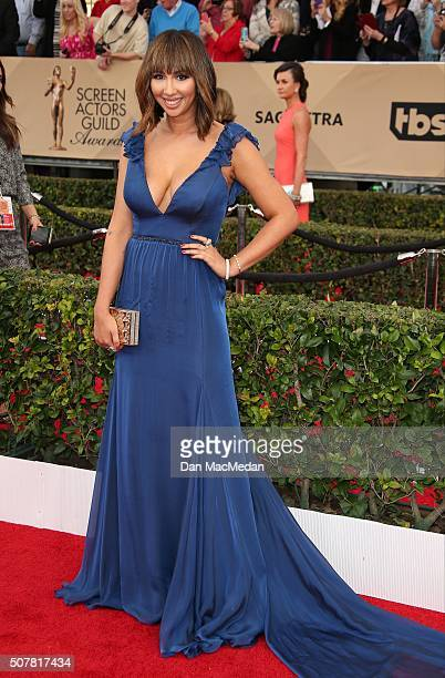 Actress Jackie Cruz attends the 22nd Annual Screen Actors Guild Awards at The Shrine Auditorium on January 30 2016 in Los Angeles California