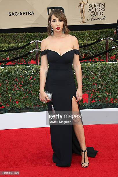 Actress Jackie Cruz attends the 23rd Annual Screen Actors Guild Awards at The Shrine Expo Hall on January 29 2017 in Los Angeles California
