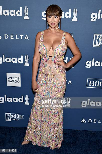 Actress Jackie Cruz attends the 27th Annual GLAAD Media Awards in New York on May 14 2016 in New York City