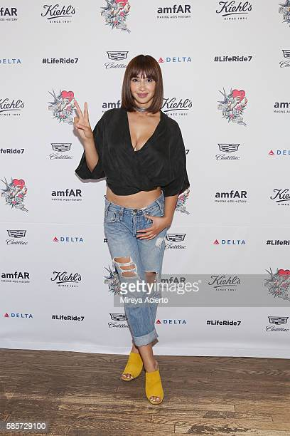 Actress Jackie Cruz attends the 7th Annual LifeRide for amfAR at Kiehl's Since 1851 Flagship Store on August 3 2016 in New York City