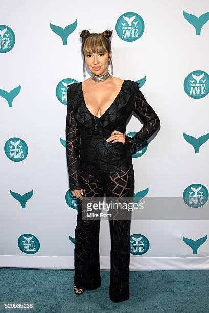 Actress Jackie Cruz attends the 8th Annual Shorty Awards at The New York Times Center on April 11 2016 in New York City