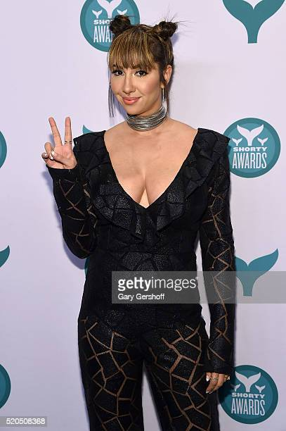 Actress Jackie Cruz attends The 8th Annual Shorty Awards at The Times Center on April 11 2016 in New York City