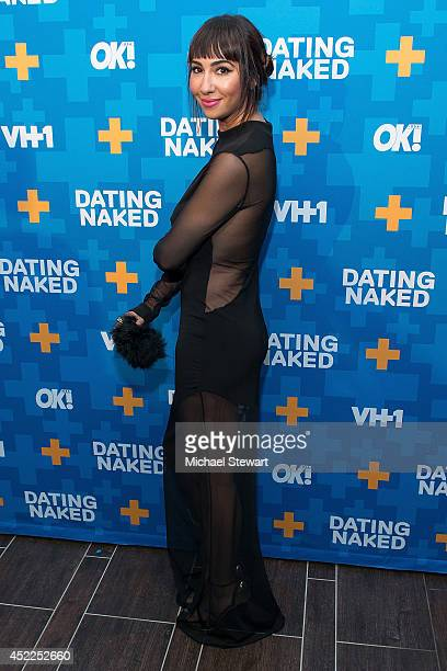Actress Jackie Cruz attends the 'Dating Naked' series premiere at Gansevoort Park Avenue on July 16 2014 in New York City