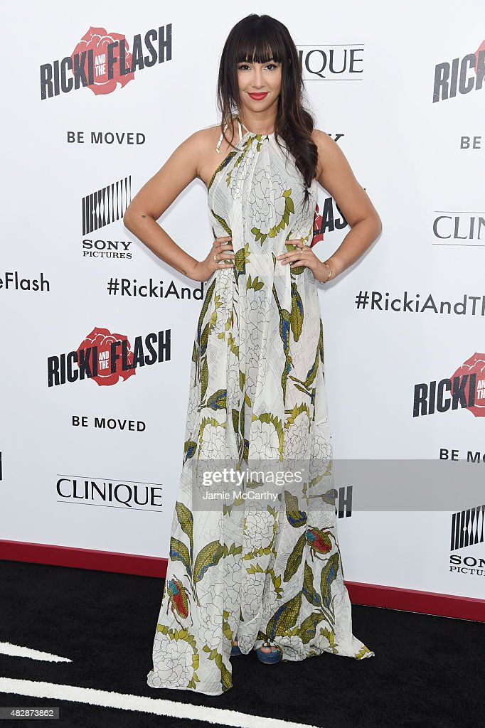 Actress Jackie Cruz attends the New York premier of 'Ricki And The Flash' at AMC Lincoln Square Theater on August 3, 2015 in New York City.