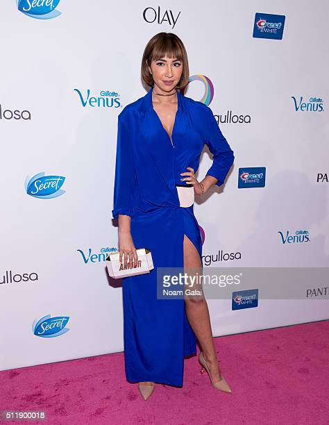 Actress Jackie Cruz attends the Orgullosa #LivingFabulosa event at The Paley Center for Media on February 23, 2016 in New York City.