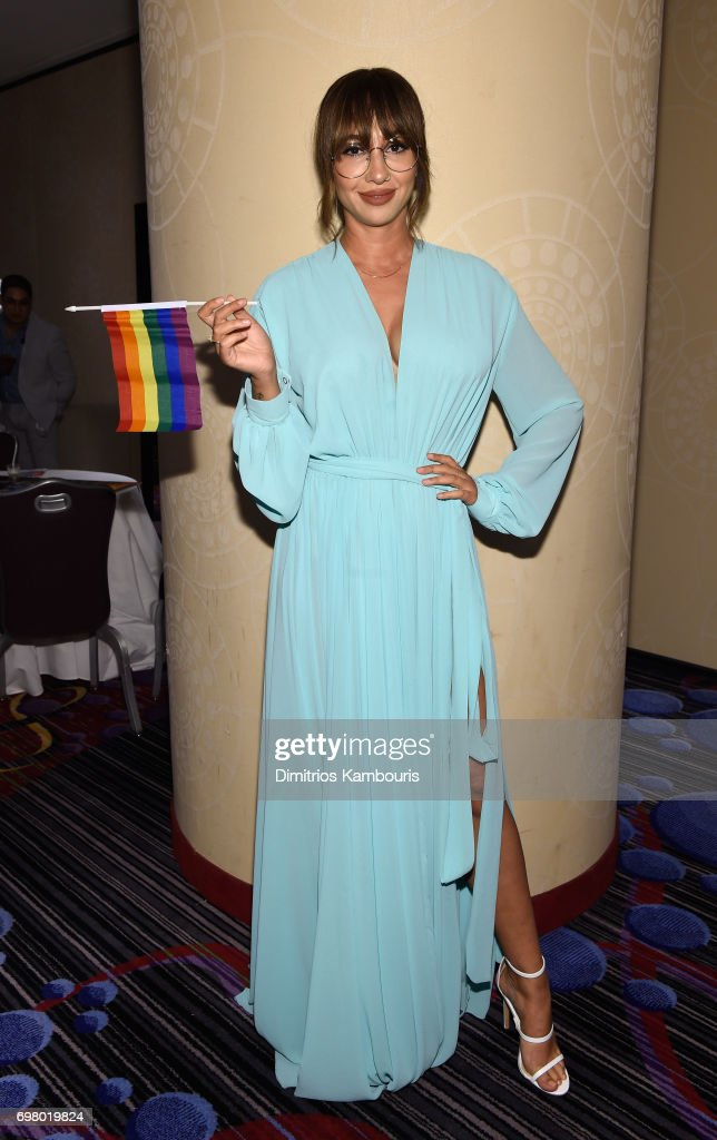 Actress Jackie Cruz attends The Trevor Project TrevorLIVE NYC 2017 at Marriott Marquis Times Square on June 19, 2017 in New York City.