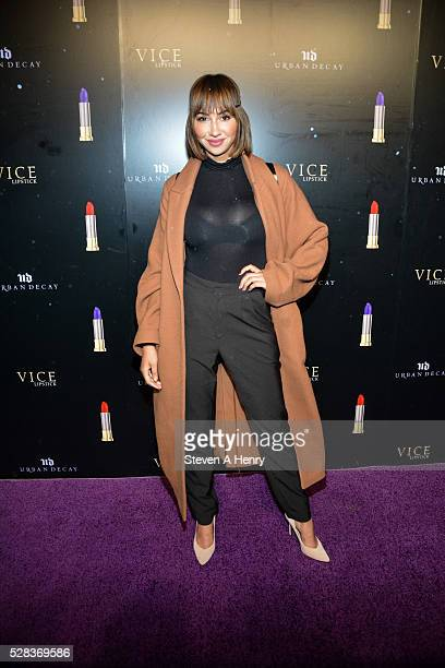 Actress Jackie Cruz attends Urban Decay Vice After Dark at Greenpoint Terminal on May 4 2016 in New York City