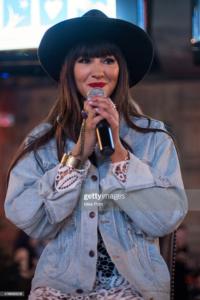 Actress Jackie Cruz performs at the 'Orange is the New Black' season 3 premiere party benefiting the Women's Prison Association at The Ainsworth on June 12, 2015 in New York City.
