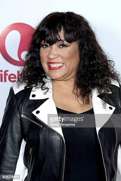 Actress Jackie Harry arrives to the live show and holiday party for 'Vivica's Black Magic' premiering January 4th at The Mint on December 6 2016 in...