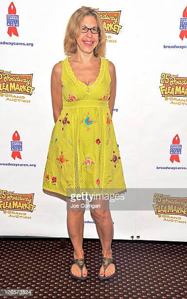 Actress Jackie Hoffman attends the 25th annual Broadway Flea Market at The Bernard B Jacobs Theatre on September 25 2011 in New York City