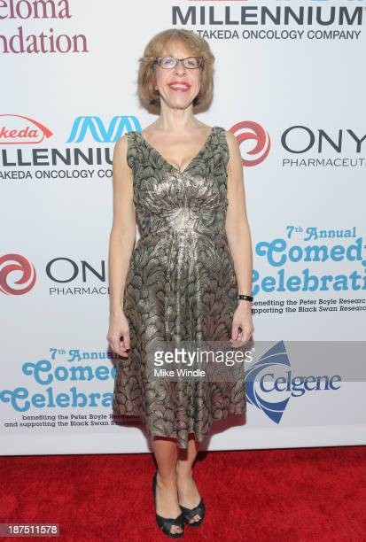 Actress Jackie Hoffman attends the International Myeloma Foundation's 7th Annual Comedy Celebration Benefiting The Peter Boyle Research Fund hosted...