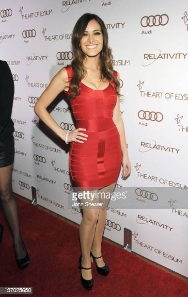 Actress Jackie Seiden arrives at Audi presents The Art of Elysium's 5th annual HEAVEN at Union Station on January 14, 2012 in Los Angeles, California.