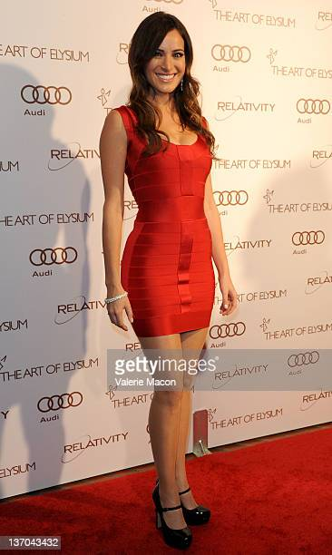 Actress Jackie Seiden arrives at The Art Of Elysium's 5th Annual Heaven Gala on January 14 2012 in Los Angeles California