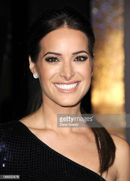 """Actress Jackie Seiden arrives at the Los Angeles premiere of """"New Year's Eve"""" at Grauman's Chinese Theatre on December 5, 2011 in Hollywood,..."""