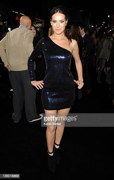Actress Jackie Seiden arrives at the premiere of Warner Bros Pictures' New Year's Eve at Grauman's Chinese Theatre on December 5 2011 in Hollywood...