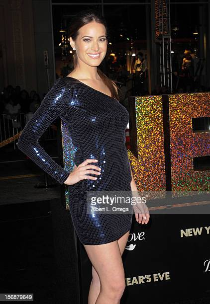 """Actress Jackie Seiden arrives for """"New Year's Eve"""" - Los Angeles Premiere - Arrivals held at Grauman's Chinese Theatre on December 5, 2011 in..."""