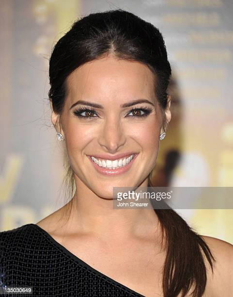 """Actress Jackie Seiden arrives to the Premiere Of Warner Bros. Pictures' """"New Year's Eve"""" at Grauman's Chinese Theatre on December 5, 2011 in..."""