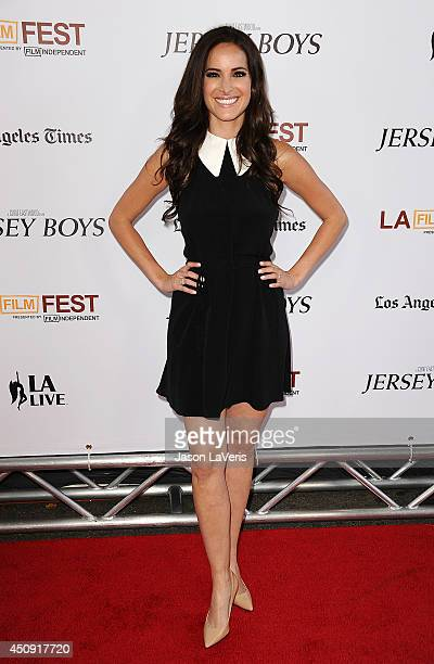 """Actress Jackie Seiden attends the 2014 Los Angeles Film Festival closing night film premiere of """"Jersey Boys"""" at Premiere House on June 19, 2014 in..."""