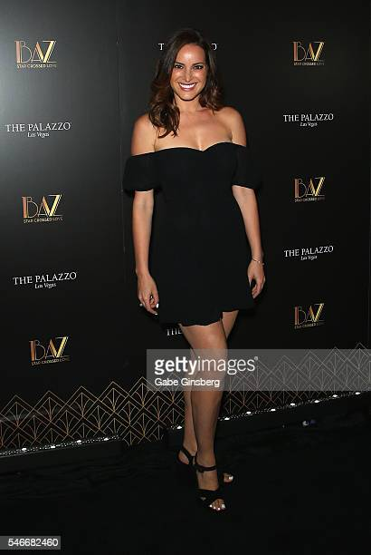 """Actress Jackie Seiden attends the opening celebration of """"BAZ - Star Crossed Love"""" at The Palazzo Las Vegas on July 12, 2016 in Las Vegas, Nevada."""