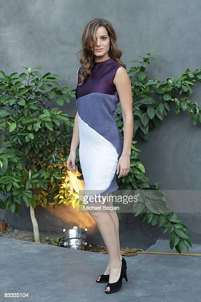 Actress Jackie Seiden attends the Yotam Solomon Spring-Summer 2009 Runway Show at Box Eight on October 17, 2008 in Los Angeles, California.