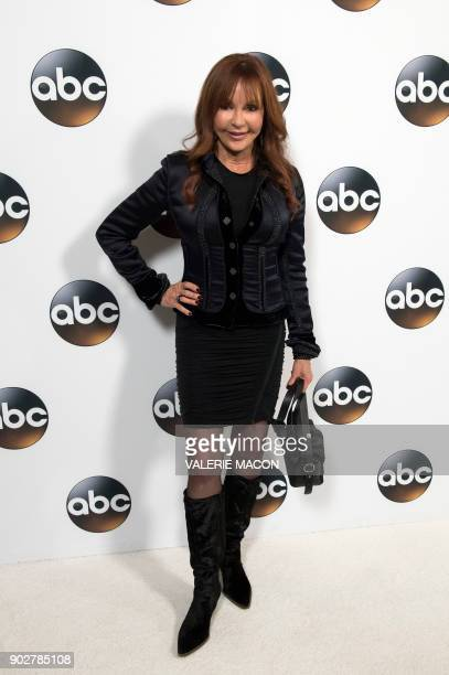 Actress Jackie Zeman attends the Disney ABC Television TCA Winter Press Tour on January 8 in Pasadena California / AFP PHOTO / VALERIE MACON
