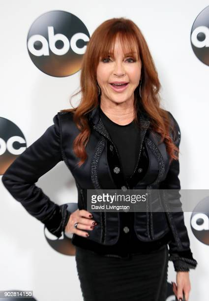 Actress Jacklyn Zeman attends Disney ABC Television Group's TCA Winter Press Tour 2018 at The Langham Huntington Pasadena on January 8 2018 in...