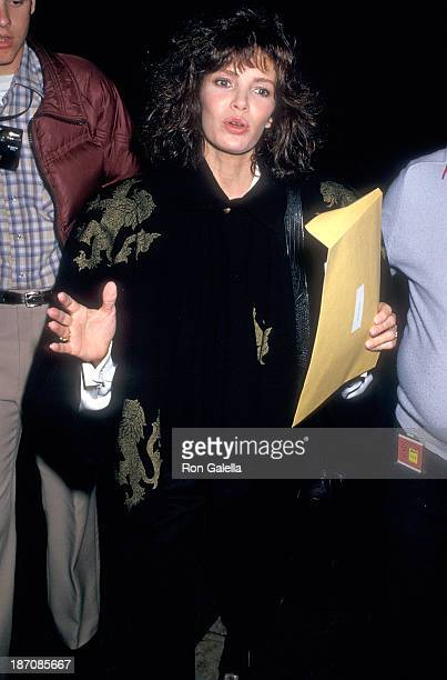 Actress Jacly Smith attends the 44th Annual Golden Globe Awards Rehearsals on January 30 1987 at the Beverly Hilton Hotel in Beverly Hills California