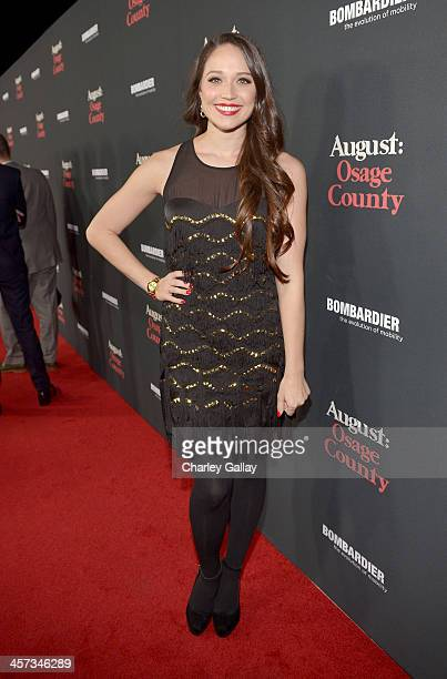 Actress Jaclyn Betham attends the LA premiere Of 'August Osage County' presented by The Weinstein Company in partnership with Bombardier at Regal...