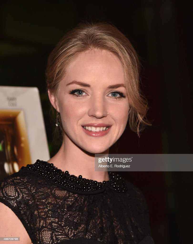 Actress Jaclyn Hales attends the premiere of 'Christmas Eve' at ArcLight Hollywood on December 2, 2015 in Hollywood, California.