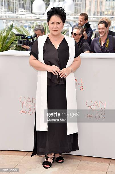 Actress Jaclyn Jose attends the Ma'Rosa photocall during the 69th Annual Cannes Film Festival at the Palais des Festivals on May 18 2016 in Cannes...