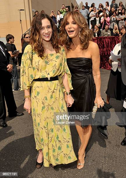 Actress Jaclyn Smith and daughter Spencer Margaret Richmond arrive at the 8th Annual TV Land Awards at Sony Studios on April 17 2010 in Los Angeles...