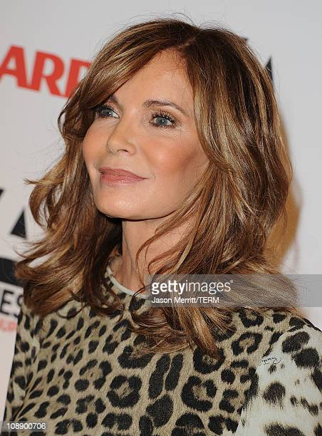 Actress Jaclyn Smith arrives at the AARP Magazine's 10th Annual Movies For Grownups Awards at the Beverly Wilshire Four Seasons Hotel on February 7...