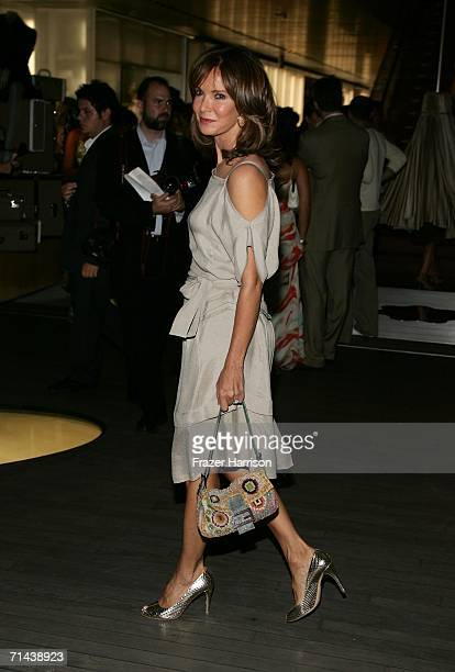 Actress Jaclyn Smith arrives at the opening of Waist Down Skirts By Miuccia Prada held at Prada on July 13 2006 in Beverly Hills California