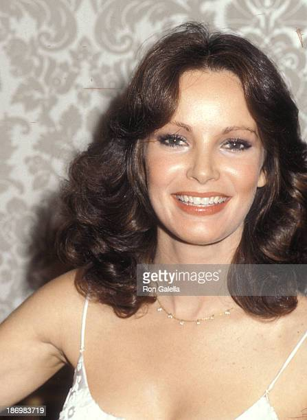 Actress Jaclyn Smith attends the 37th Annual Golden Globe Awards on January 26 1980 at the Beverly Hilton Hotel in Beverly Hills California
