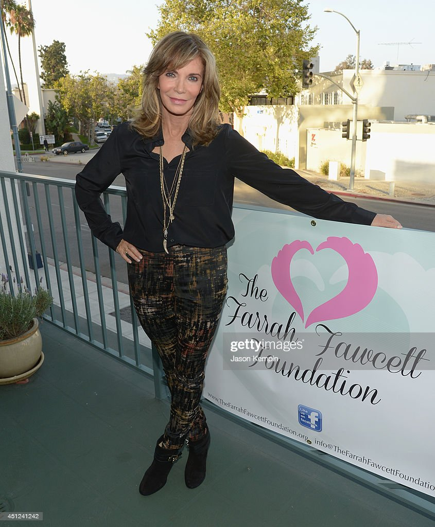 Actress Jaclyn Smith attends the Farrah Fawcett 5th Anniversary Reception at the Farrah Fawcett Foundation on June 25, 2014 in Beverly Hills, California.