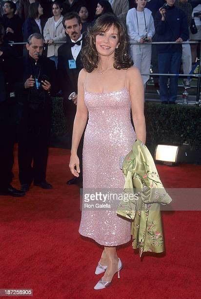 Actress Jaclyn Smith attends the Fifth Annual Screen Actors Guild Awards on March 7 1999 at the Shrine Auditorium in Los Angeles California
