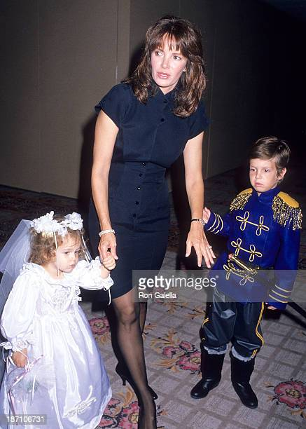Actress Jaclyn Smith daughter Spencer Richmond and son Gaston Richmond attend the Inner Circle for Los Angeles Childrens Museum's Fifth Annual...