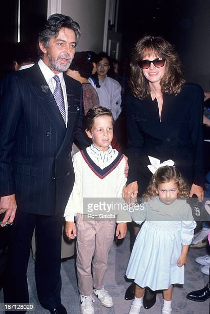 Actress Jaclyn Smith husband Anthony Richmond and kids Spencer and Gaston attend the Inner Circle for Los Angeles Childrens Museum's Sixth Annual...