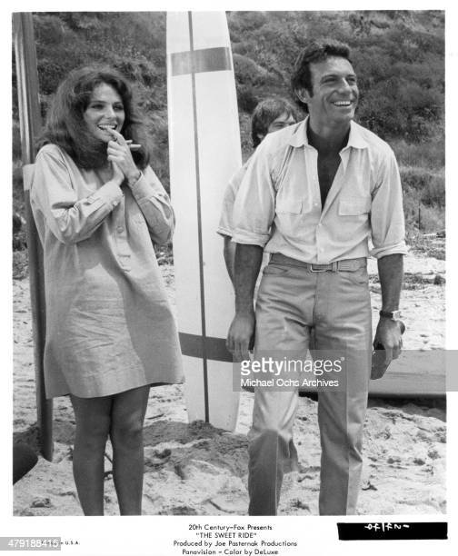Actress Jacqueline Bisset and actor Anthony Franciosa in a scene from the 20th Century Fox movie The Sweet Ride circa 1968