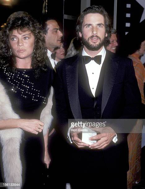 Actress Jacqueline Bisset and actor Hart Bochner attend the Ninth Annual American Film Institute Lifetime Achievement Award Salute to Fred Astaire on...