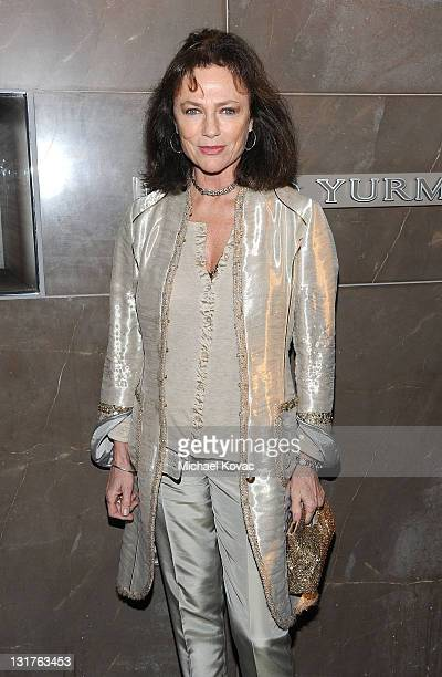 Actress Jacqueline Bisset arrives at the David Yurman Event hosted by Alana Stewart to benefit The John Wayne Cancer Institute at David Yurman Rodeo...