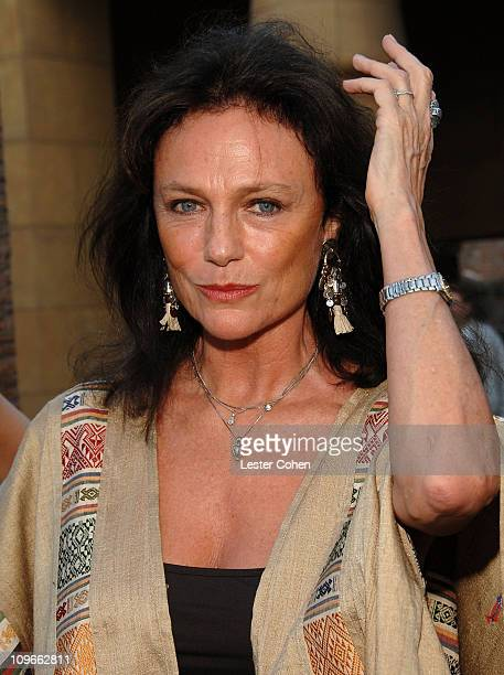 Actress Jacqueline Bisset arrives to the '2 Days in Paris' Los Angeles premiere at the Egyptian Theater on August 6 2007 in Hollywood California