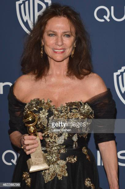 Actress Jacqueline Bisset attends the 2014 InStyle And Warner Bros 71st Annual Golden Globe Awards PostParty held at The Beverly Hilton Hotel on...