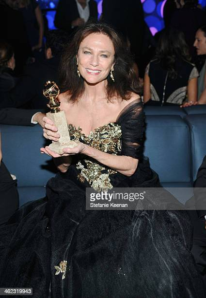 Actress Jacqueline Bisset attends the 2014 InStyle And Warner Bros. 71st Annual Golden Globe Awards Post-Party at The Beverly Hilton Hotel on January...