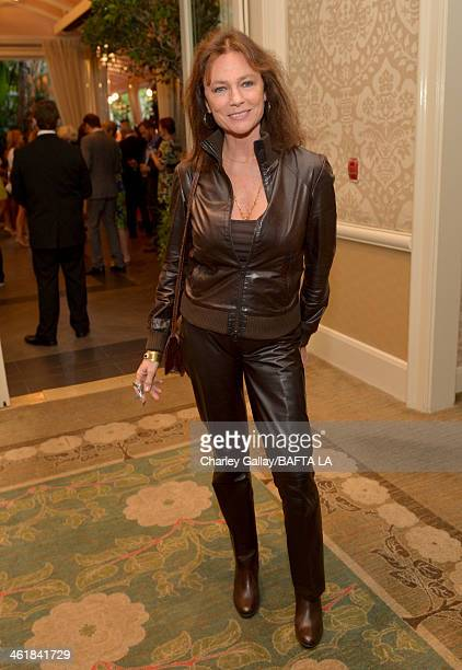 Actress Jacqueline Bisset attends the BAFTA LA 2014 Awards Season Tea Party at the Four Seasons Hotel Los Angeles at Beverly Hills on January 11 2014...