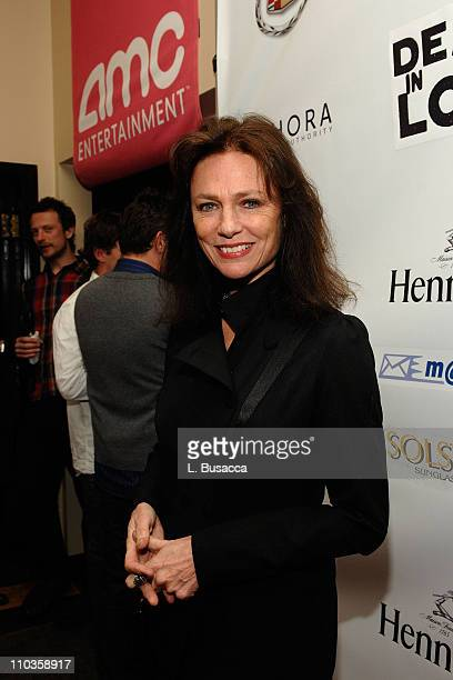 Actress Jacqueline Bisset attends the Death in Love Party sponsored by AMC at the Hollywood Life House on January 22 2008 in Park City Utah